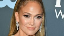 Jennifer Lopez just got Rapunzel length hair extensions