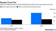 TV Stations, Don't Pig Outon Netflix's European Cash