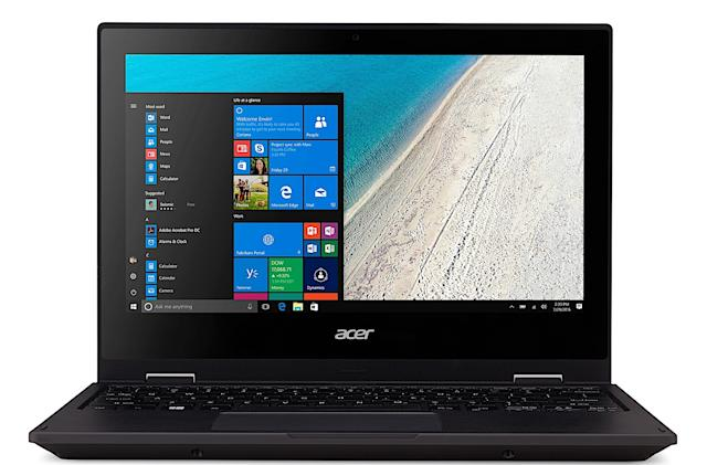 The TravelMate Spin B1 is Acer's first Windows 10 S laptop