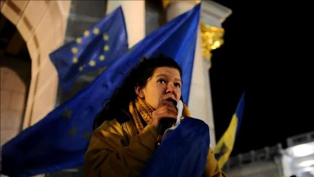 Protesters in Ukraine keep up the pro-EU fight