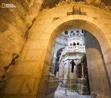 Excavations reveal 'Tomb of Christ' in Jerusalem is at risk of collapse