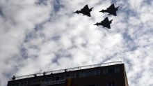 Un caza español dispara accidentalmente un misil en Estonia