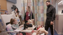 Drake Grants Birthday Wish for 11-Year-Old Heart Transplant Patient, Visits Her at Chicago Hospital