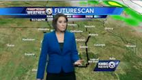 Cooler temps and some rain chances for the weekend