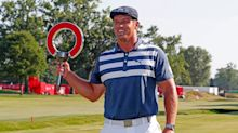 Bryson DeChambeau overturns a three-stroke deficit to secure first win since remarkable transformation