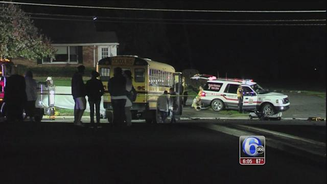 Rider University student killed in crash involving school bus