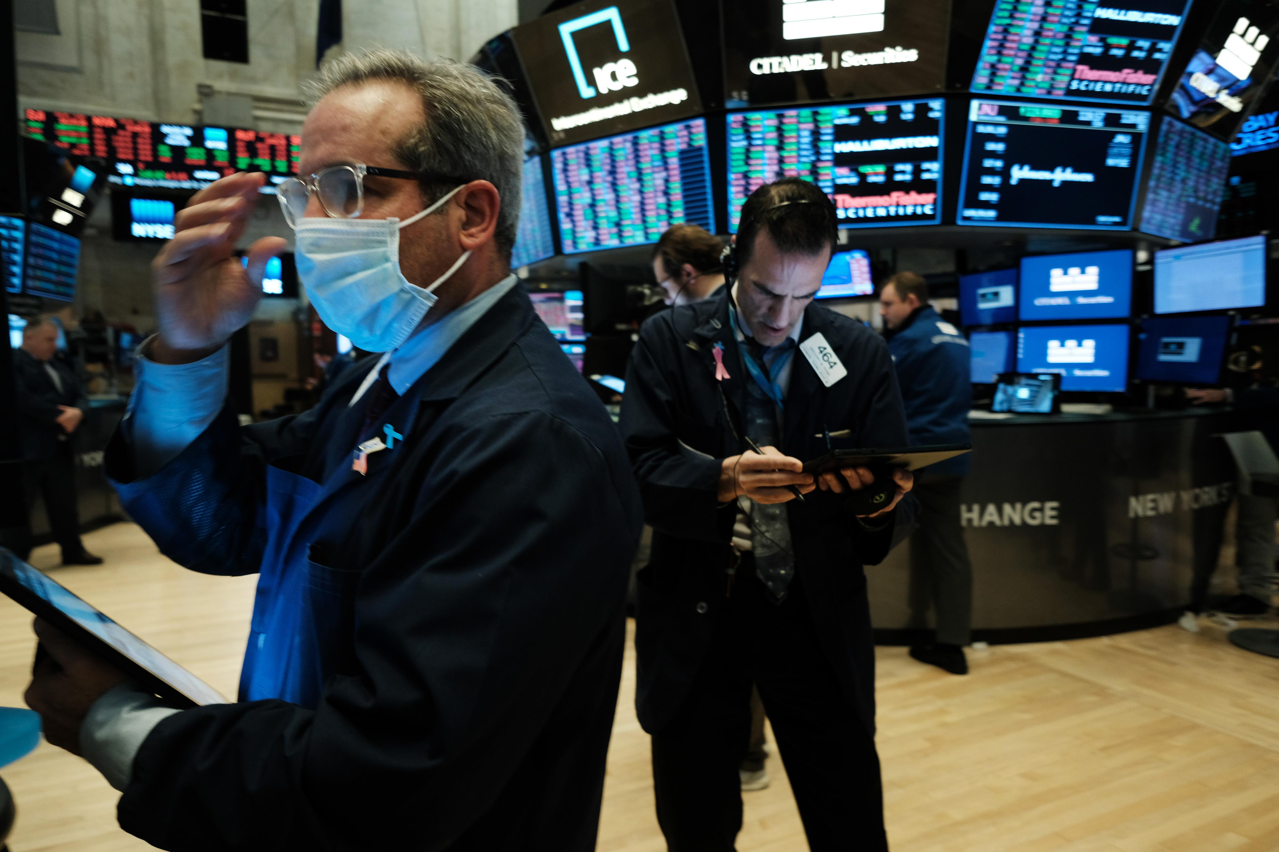 Stock futures open slightly higher after selloff