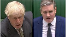 Boris Johnson condemned for 'completely opposite' statements about coronavirus