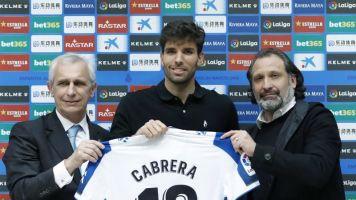 El Espanyol oficializa el fichaje del uruguayo Leandro Cabrera hasta 2024