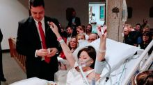 Cancer-stricken bride dies 18 hours after wedding