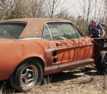 First Shelby GT500 found, a 1967 prototype dubbed 'Little Red'