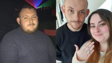 Man loses almost half his bodyweight and finally proposes