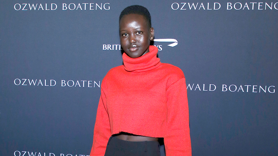 'This would've not happened to a white model': Adut Akech hits out at magazine's 'error