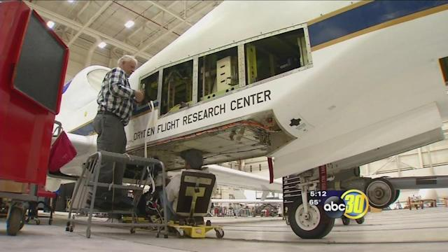 NASA uses drones short distance from Central Valley