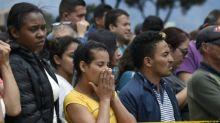 """""""El fin del mundo"""": los angustiosos momentos tras atentado en Bogotá"""