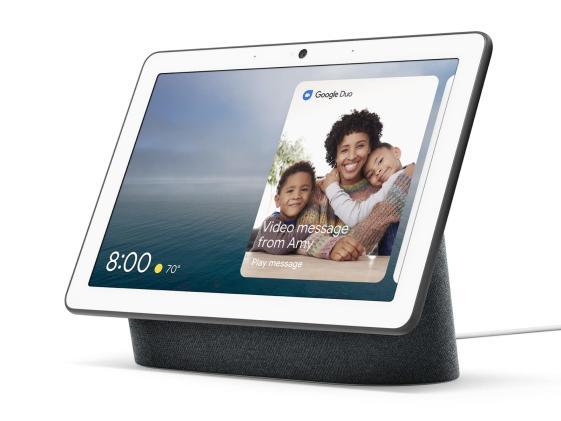 Google unveils the Nest Hub Max smart display