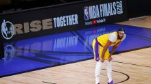 Anthony Davis, Lakers dominate wounded Heat in Game 1 of NBA Finals