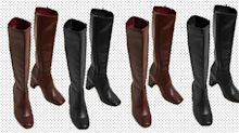 Up your shoe game: M&S' trendy new knee high boots are under £50