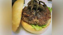This restaurant is serving up a $30 tarantula burger
