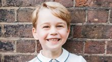 Prince George turned five so of course there's an adorable photo release