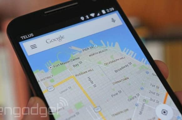 Google Maps for Android lists your events, flights and reservations