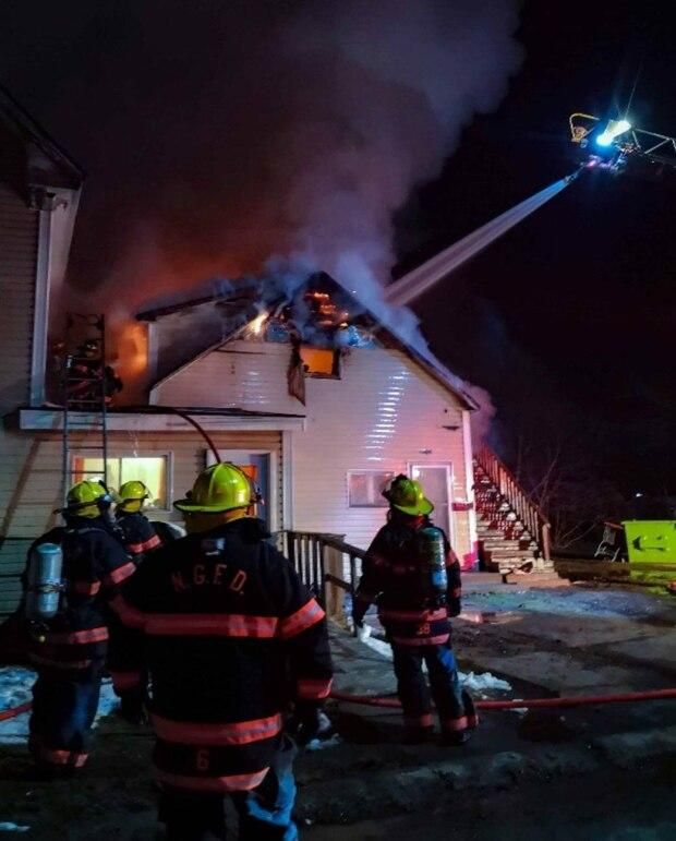 Glasgow Apartments: New Glasgow Apartment Building Goes Up In Flames In
