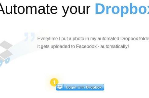 Dropbox Automator triggers monotonous tasks with the uploading of a file