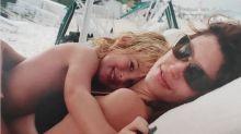 Cindy Crawford felicita a su hijo Presley y agradece el tiempo vivido juntos