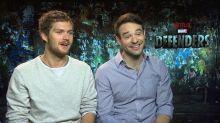"""Finn Jones (Iron Fist) y Charlie Cox (Daredevil) estrenan The Defenders: """"Sería interesante que los Vengadores del cine saltaran a la serie"""""""