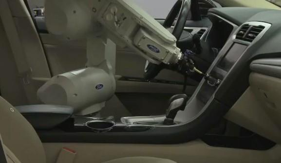 Ford wants you to meet its touchy, feely interior quality robot, RUTH 2.0