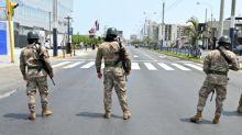 Perú exime de responsabilidad penal a militares que patrullan por coronavirus