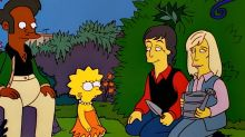 Paul McCartney checks in with 'The Simpsons' to make sure Lisa is still veggie