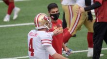 49ers QB Garoppolo sidelined by ankle for 2nd straight game