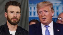 Chris Evans Blasts Trump's Response to Epidemic: 'America Wants Leadership'