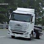 Hyundai Ships Hydrogen Fuel-Celled Trucks to Switzerland