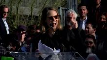 'It's time to show up:' Jodie Foster speaks at unity rally
