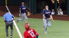 Joey Gallo brings Globe Life Field roof into play. Here's what the umpires called.