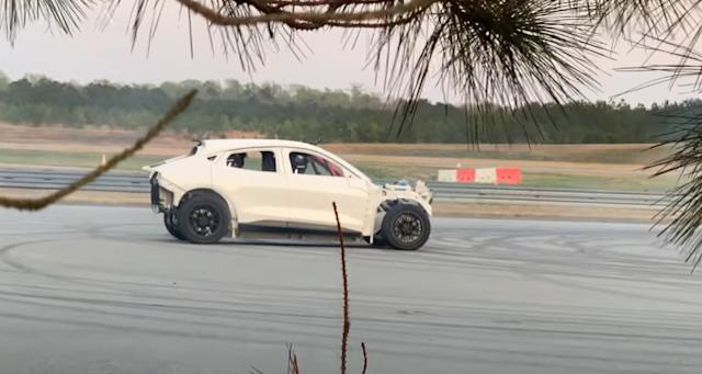 'Leaked' video teases a drift-modified Mustang Mach-E