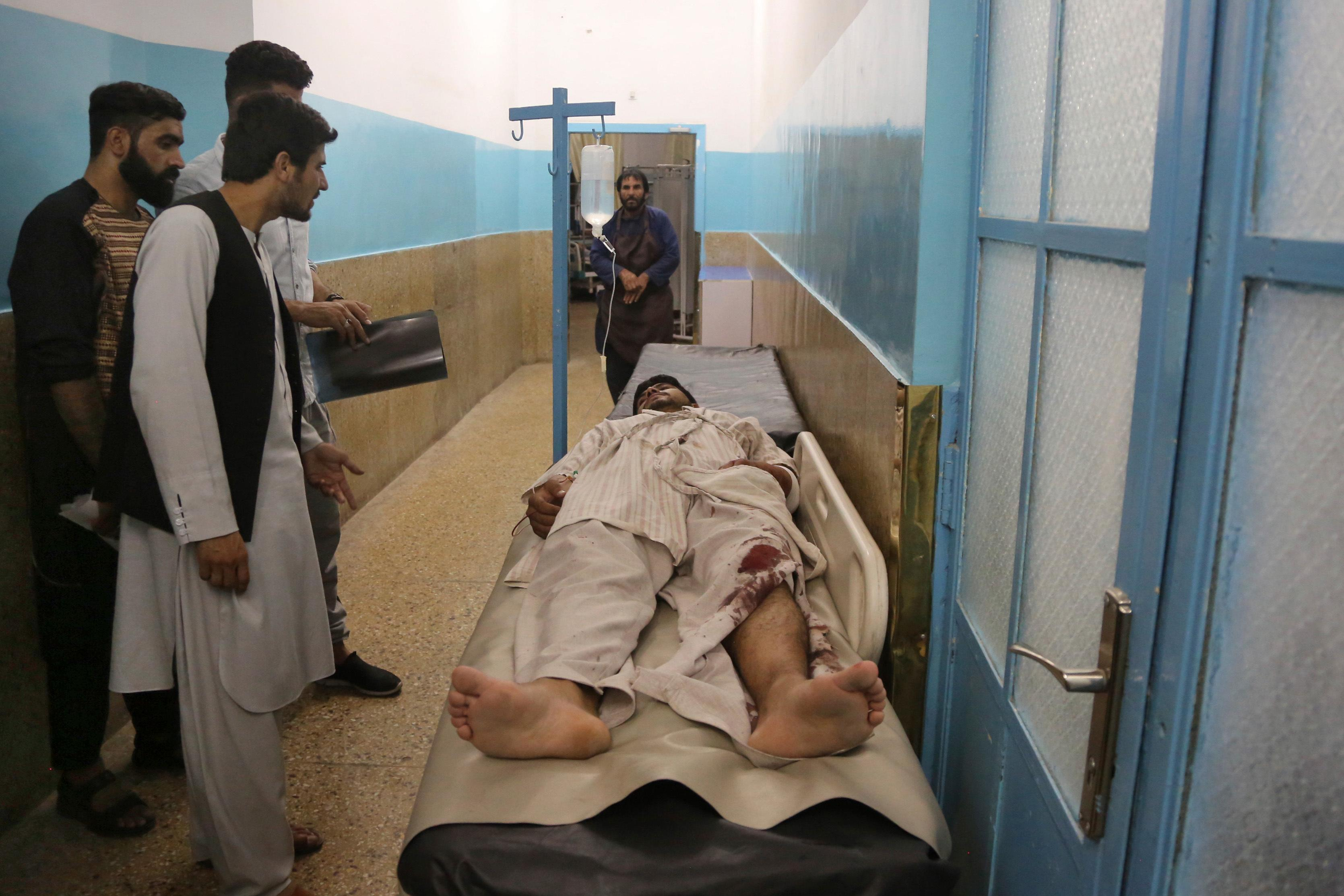 Dozens Reported Killed, Wounded By Bomb At Kabul Wedding Reception