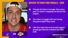 NBA restart futures betting picks