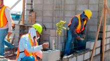 En medio de malas noticias económicas, empleo en la construcción confirma tercer mes consecutivo de recuperación