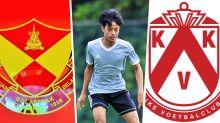 Luqman Hakim Shamsudin's move to KV Kortrijk, a chronology