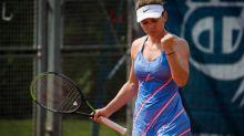 Tennis - WTA - Prague - Prague: Simona Halep souffre à nouveau mais batBarbora Krejcikova