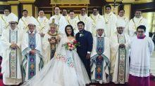 Ai-Ai delas Alas and Gerald Sibayan tie the knot