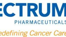 Spectrum Pharmaceuticals Presents Twice Daily Dosing Data for Poziotinib at the ESMO TAT Virtual Congress 2021