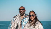 Steve Harvey defends his marriage after haters accuse wife of spending all his money on lavish vacation