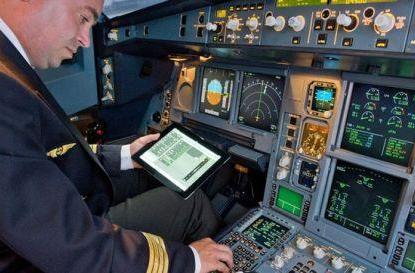 Airbus creates electronic flight bag apps for pilots with iPads