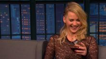 Jennifer Lawrence describes bar fight she had while 'morbidly hungover' on 'Late Night'