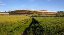 Uno stadio tutto in legno, firmato Zaha Hadid