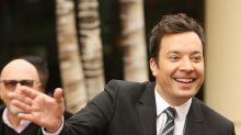 Jimmy Fallon meistert Panne bei Golden Globes